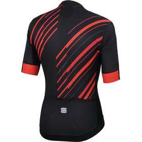 Sportful R&D Celsius Jersey Men black/anthracite/red